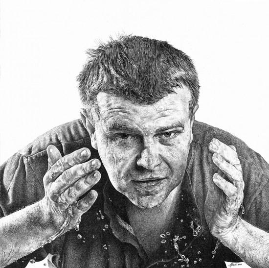 Hyperréalistes Dessins au crayon par Heikki Leis