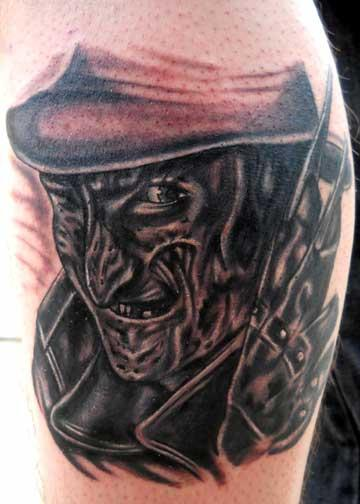 Something wicked this way comes fiendish friday with for Elm street tattoo