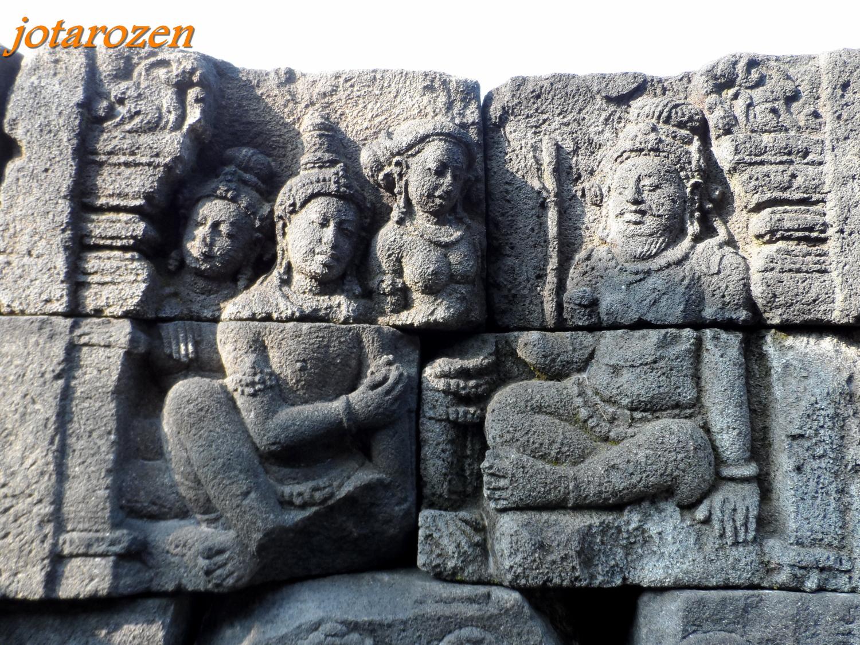Footsteps jotaro s travels sites borobudur