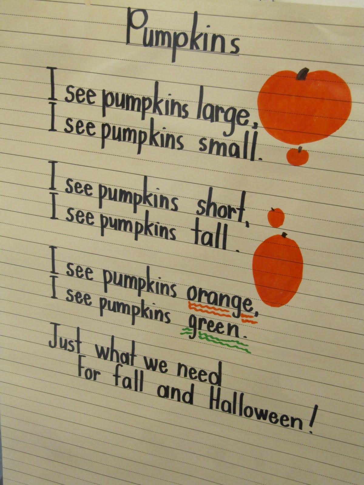 pumpkin rhymes preschool kc kindergarten times songs 206