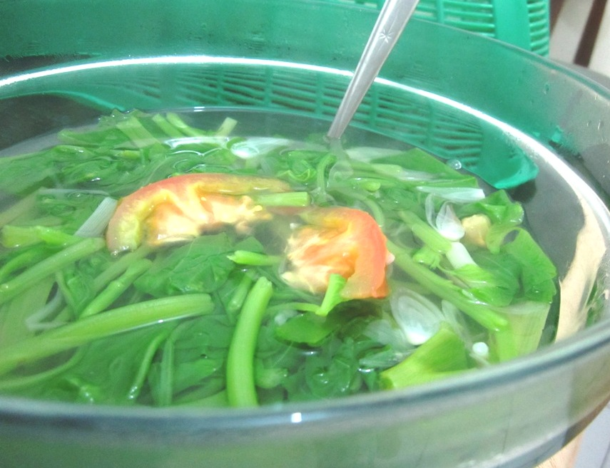 Spinach soup recipe