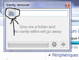 how to delete empty folders