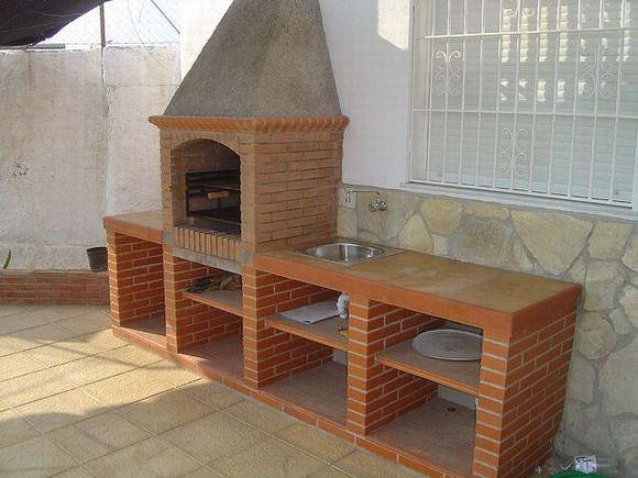 Barbacoas barbacoas de obra tl 655306119 - Como hacer una chimenea de obra ...