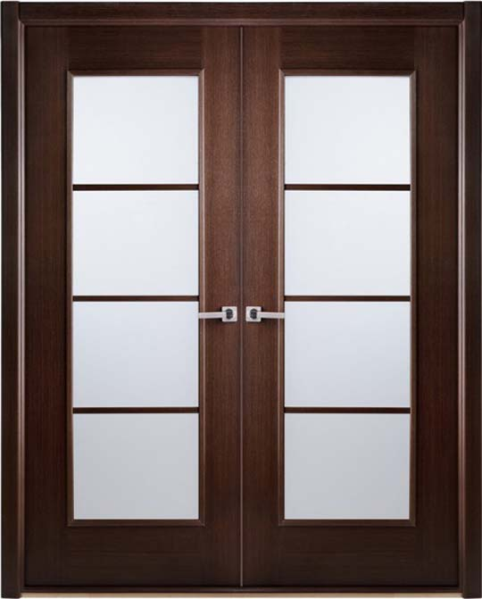 Frosted Glass Interior Doors : Modern interior bifold doors frosted glass
