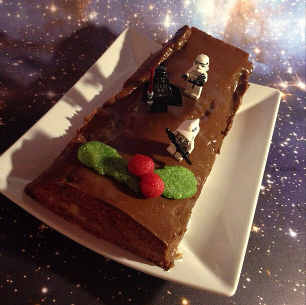 Postre Star Wars