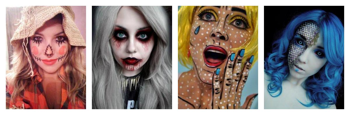 halloween, makeup, maquiagem, inspiration,