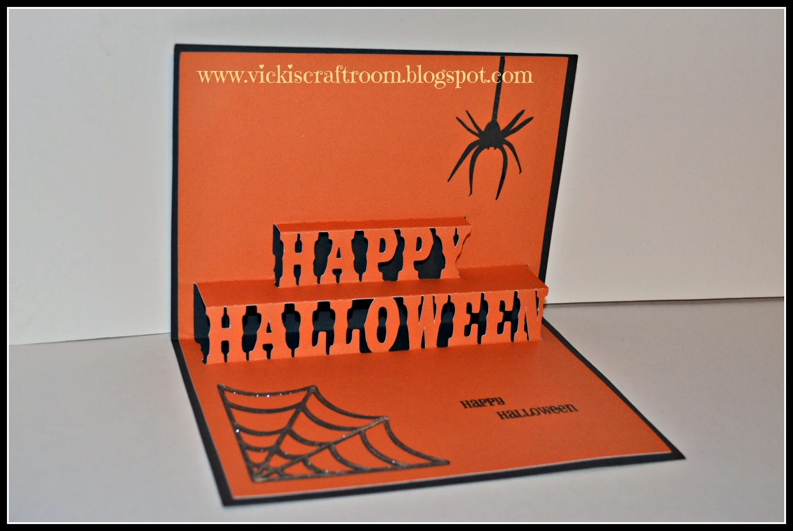 vicki's craft room: happy halloween