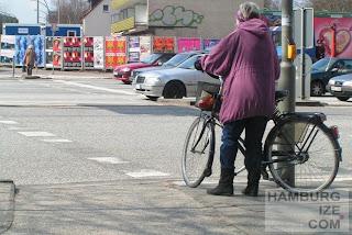 Siemersplatz - Bettelampel