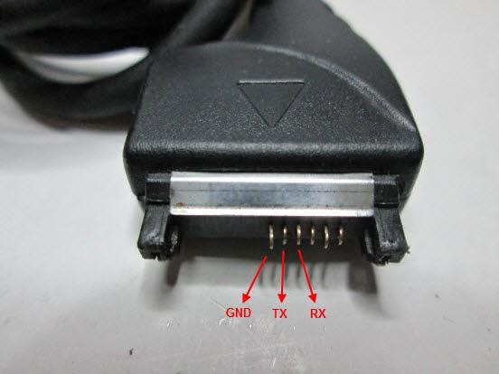 Kabel PIN DKU-5 Membuat USB to Serial RS232 dengan Kabel DKU-5 dan Ponsel Bekas