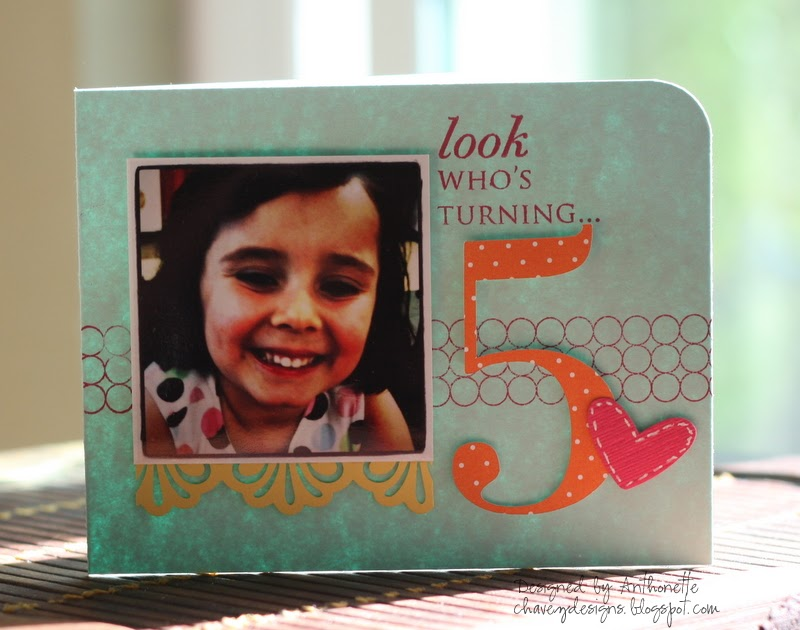 Chavez Designs Look Whos Turning 5