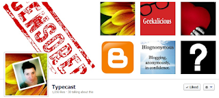 facebook, header, geeekalicious, typecast
