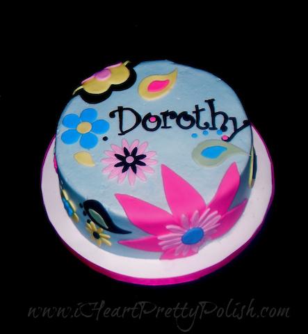 Retro Cake