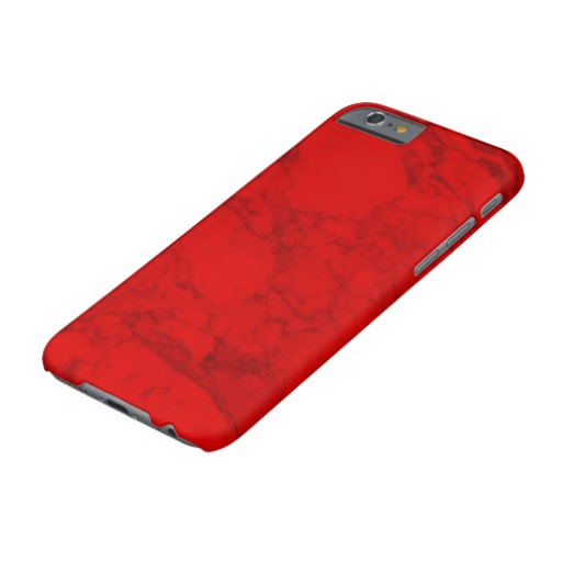 Red Mermer Barely There iPhone 6 Case