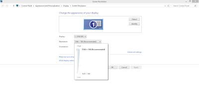 Memperbesar Resolusi Monitor di Windows 8