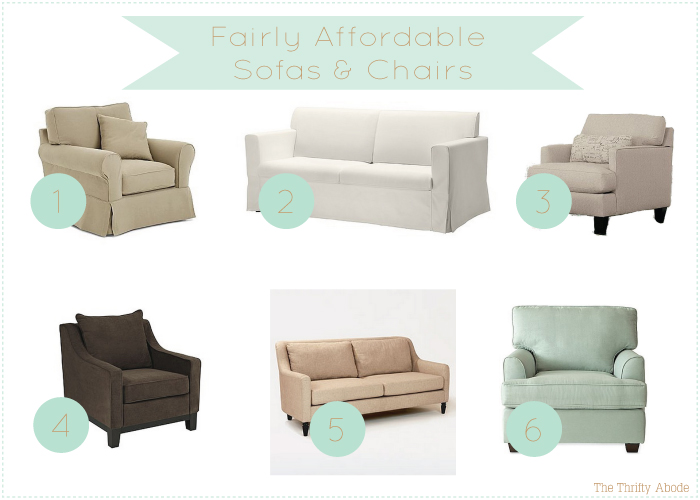 Affordable Sofas And Chairs