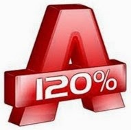 Logo Alcohol 120% 2.0.3.7520 Free Download