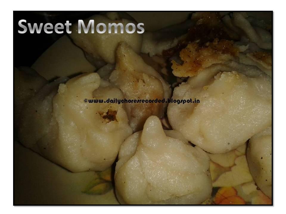 Sweet Momos