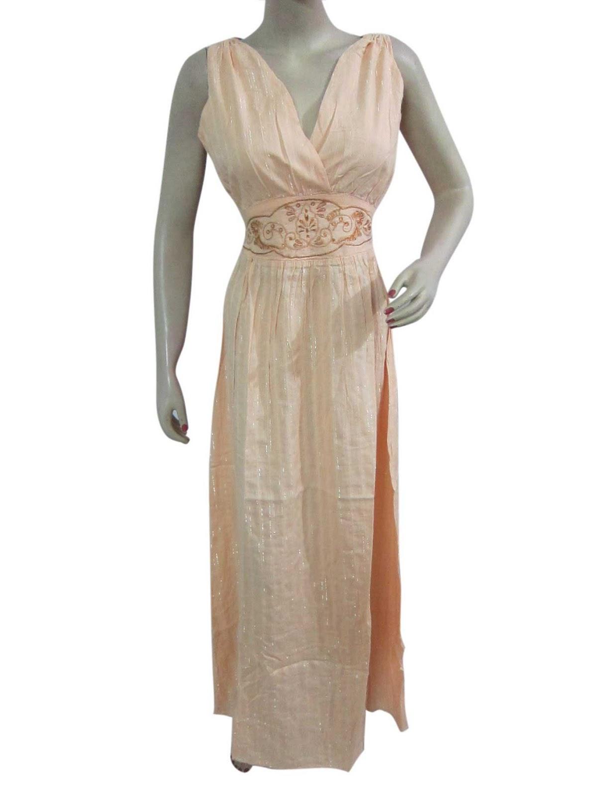 Dress summer fashion deep v neck elegant embroidered long boho dress
