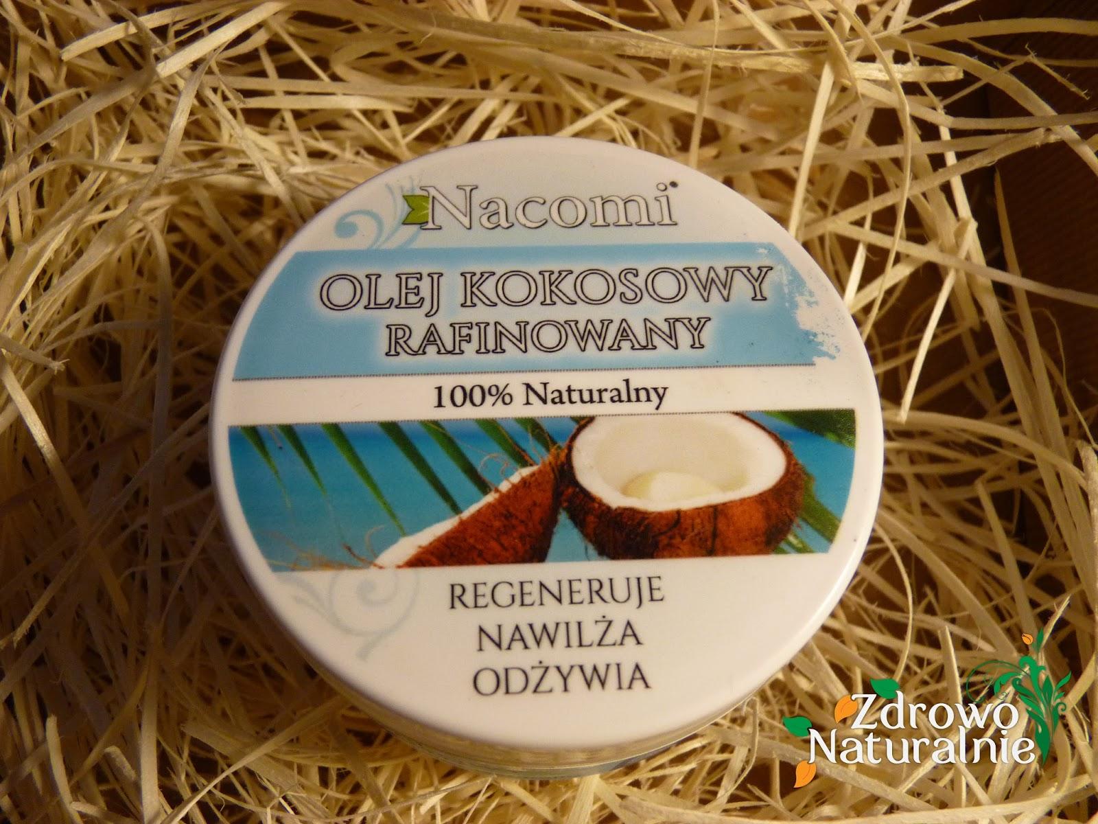 Nacomi - Olej kokosowy Rafinowany oraz Czyste 100% Masło Shea