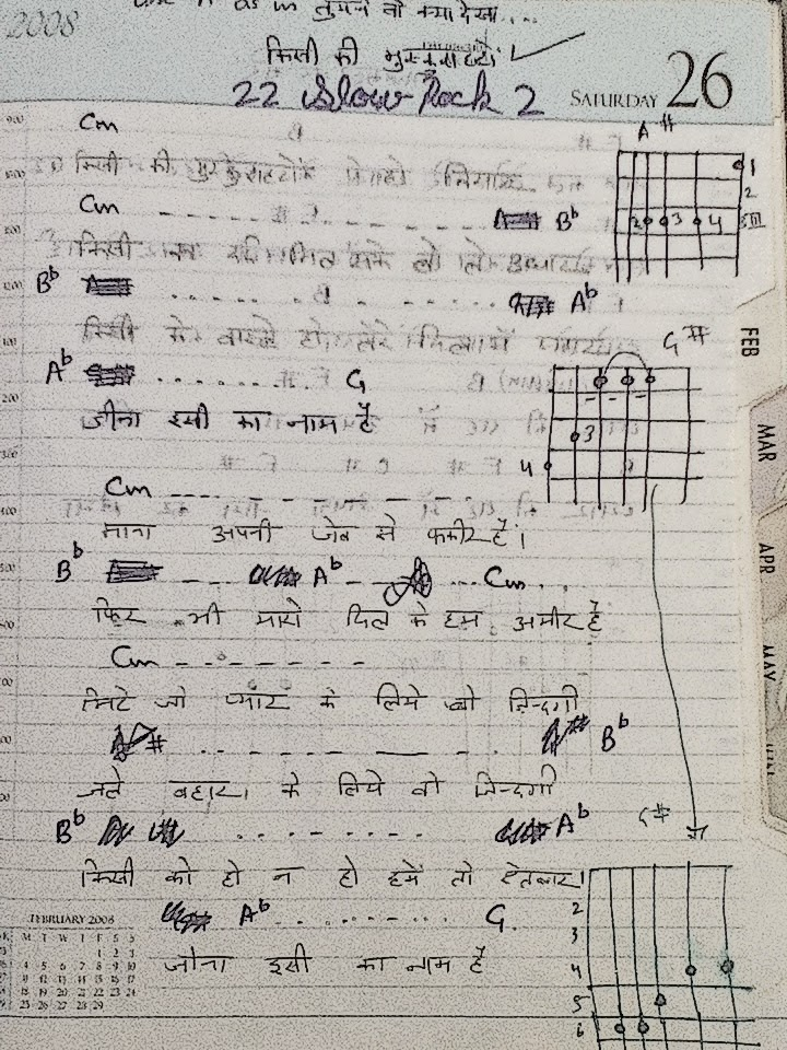 My Guitar Notes