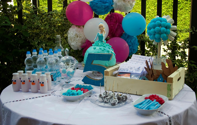 Diariodeco14: Candy bar Frozen por el cumple de la princesa4
