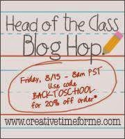 MCT Head Of The Class Blog Hop!!!