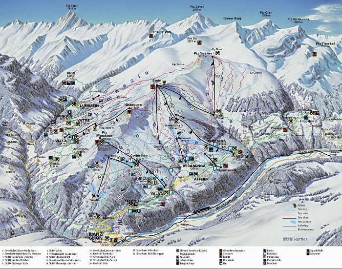 Obersaxen Mundaun - The Top Ski Resorts in Switzerland