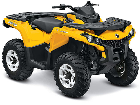 2013 Can-Am Outlander DPS 650 ATV pictures. 480x360 pixels
