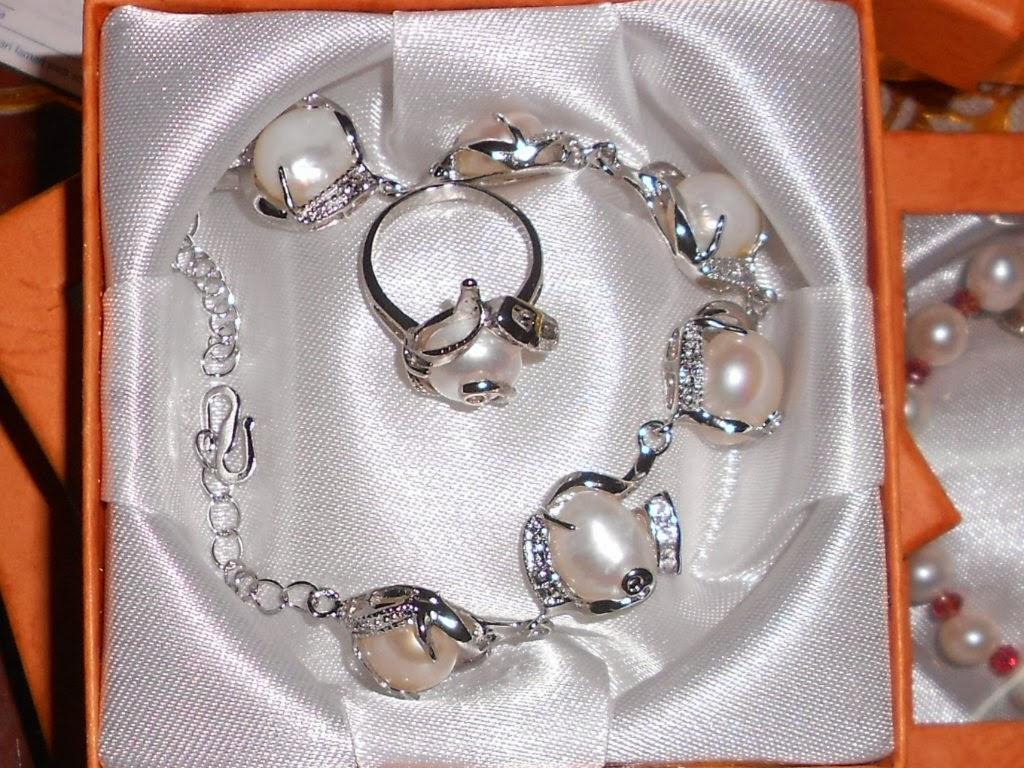 set gelang tangan dan cincin rm 25 tidak temasuk postage