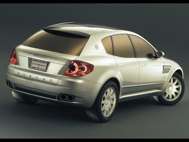 Concept car di Maserati, il SUV Kubang