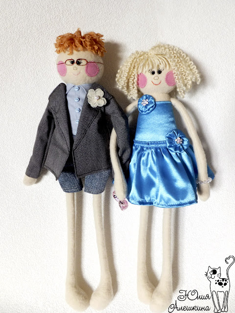 Куклы длинноножки по фото. Паша и Алена. В полный рост.