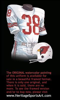 1967 St. Louis Cardinals uniform