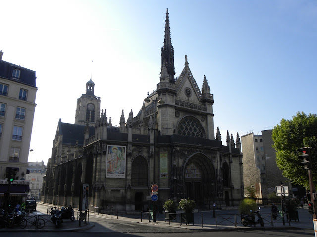 Church Saint Laurent Paris