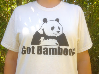 Excited to offer a new shirt for all you bamboo lovers out there