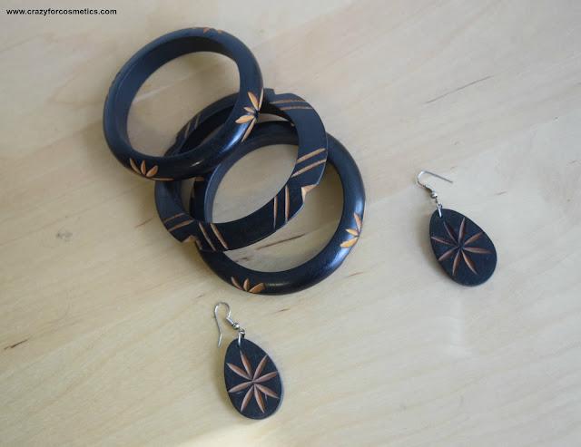 bangles made of wood