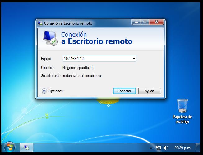 Pr cticas intermedias blog de apoyo asistencia remota a for Conexion escritorio remoto windows 8