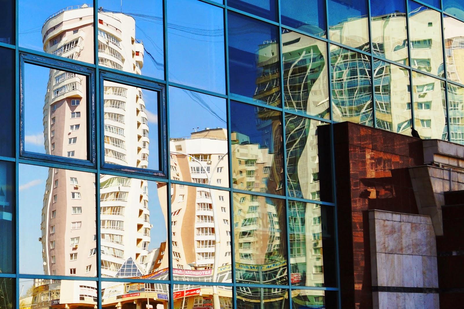 Отражение в стекле