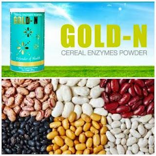 GOLD - N (โกลด์ เอ็นไซม์ : Enzyme ธัญพืช เพื่อสุขภาพ)