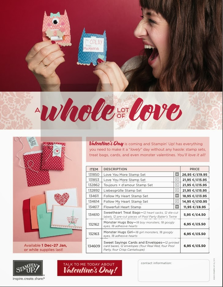 VALENTINE'S PRODUCTS NOW AVAILABLE