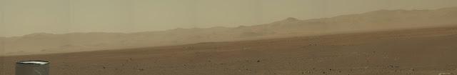 Fotos do Curiosity mostram paredões da Cratera Gale, em Marte
