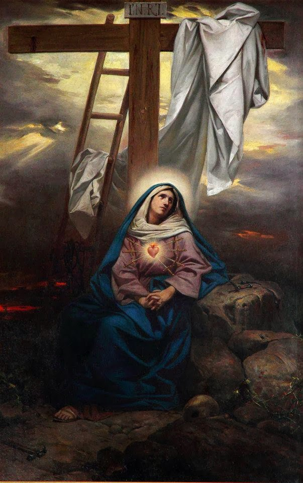 Our Lady of Sorrows - pray for us