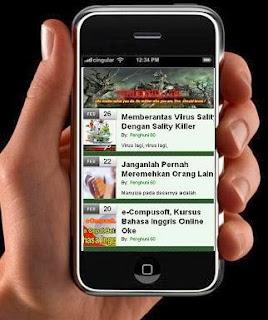 Pasang Google Adsense di Blog Versi Mobile