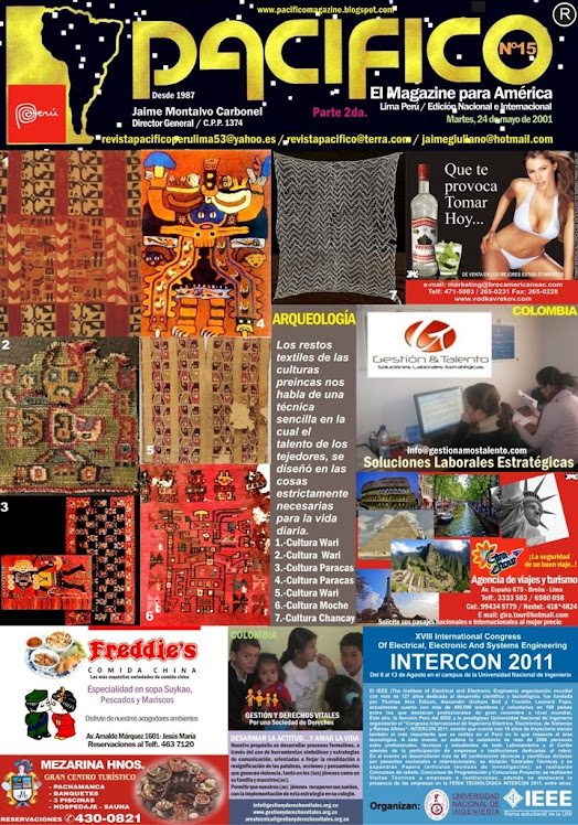 Revista Pacífico Nº 15 parte 2da.