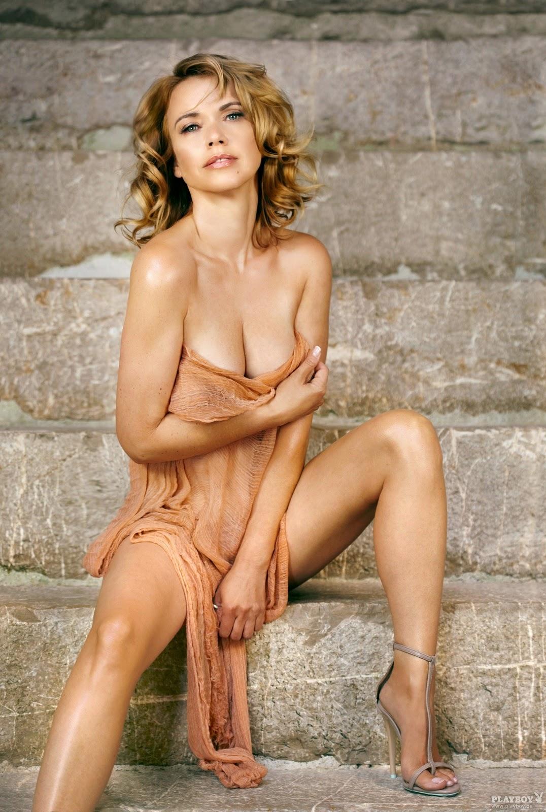 Nackt Bilder : Tina Ruland German Playboy October 2013   nackter arsch.com