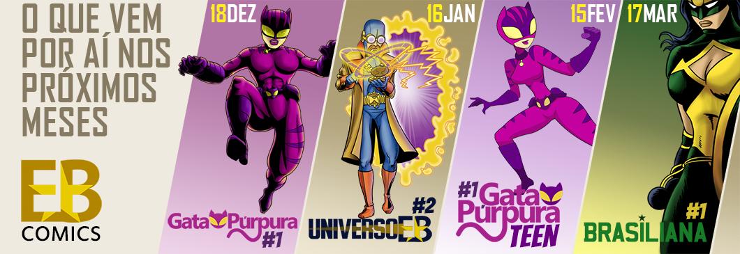 EB Comics - O Universo de Super-Heróis de Elinaudo Barbosa