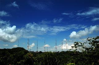 Jogja television transmitter antenna