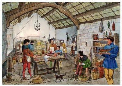 La gastronom a en la edad media te interesa saber for Cocinero en frances