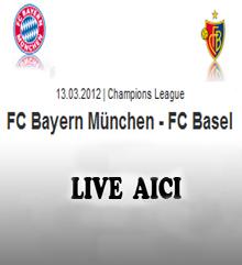 Bayern Munchen Basel live online Tvr1