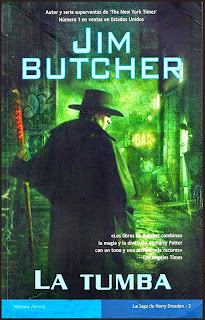 La tumba de Jim Butcher