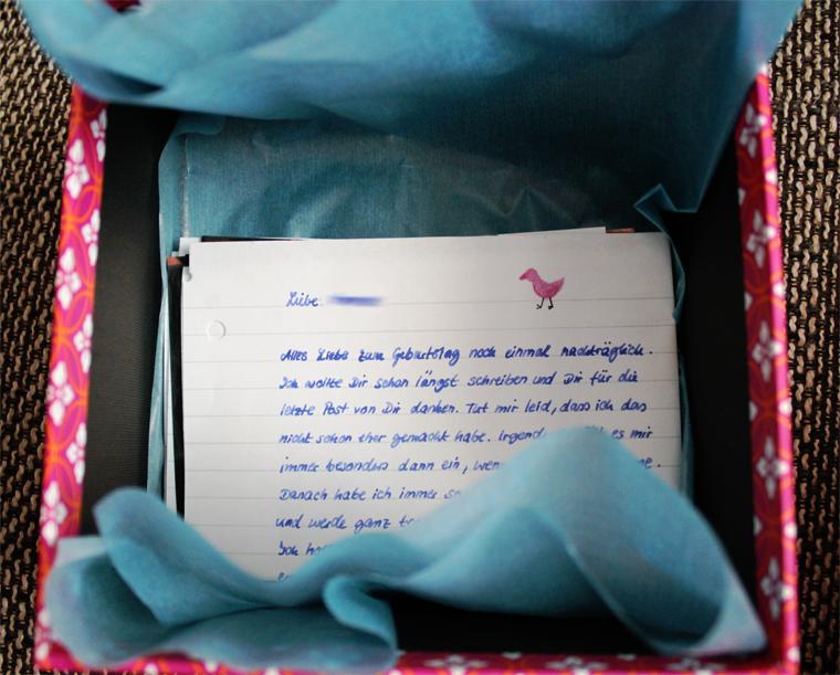 Kennenlernen brief schreiben